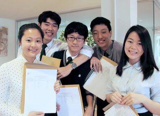 Regents' top performing IGCSE students.