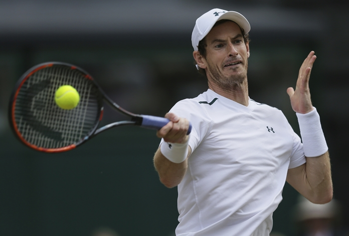 British tennis player Andy Murray has withdrawn from the U.S. Open due to a hip injury. (AP Photo/Tim Ireland)