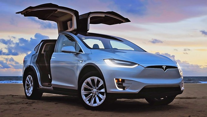 Tesla X Suv