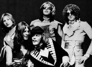 Mott the Hoople in 1974.