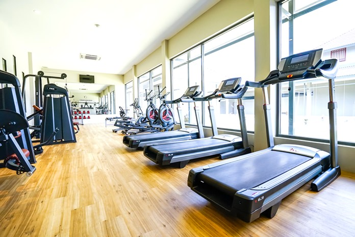 A fully equipped gymnasium and fitness center provides personal trainers and yoga classes for hotel guests.