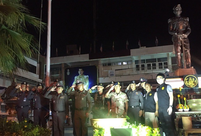 """Pattaya-area police launched another of their periodic """"crackdowns"""" on crime in an effort to tighten security before the cremation of HM the late King."""