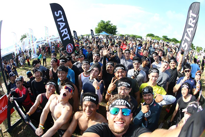 Over 5000 participants took on the challenge of the inaugural Spartan obstacle race in Pattaya, Saturday, September 9.