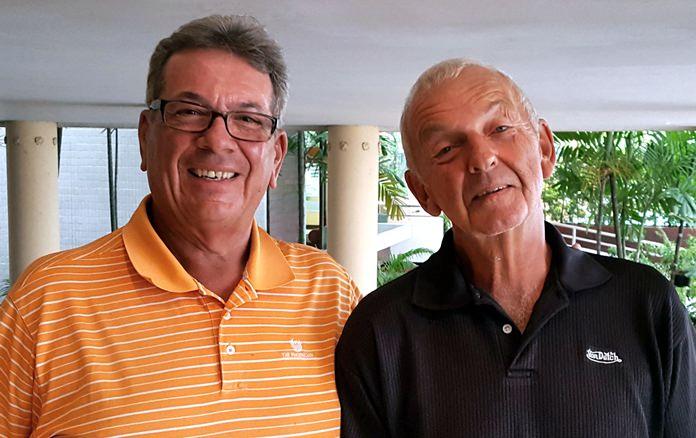 John Pierrel and Mick Coghlan.