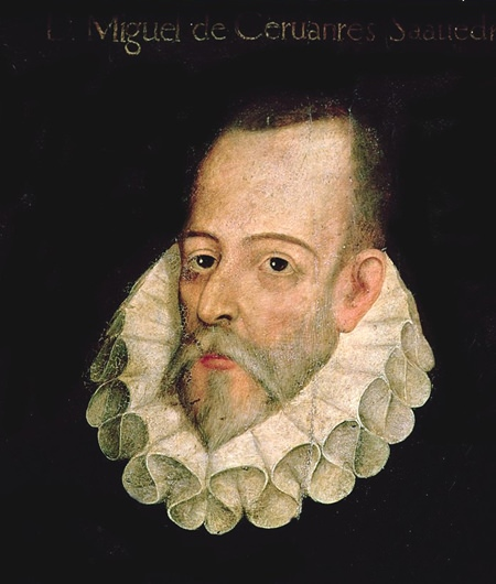 Miguel de Cervantes (or possibly not).