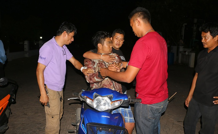 YadpirunChuwong was arrested in a sting operation by district officials in Moo 1 village.