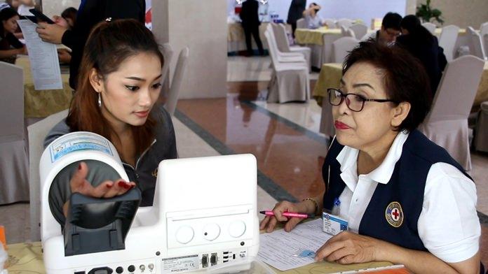 Bangkok Pattaya Hospital and the Queen Savang Vadhana Memorial Hospital kicked off their ninth year of blood drives.
