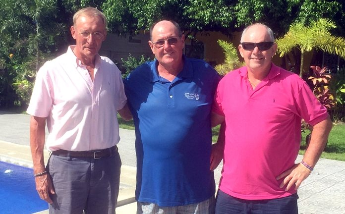 (From left) Willem Lasonder, Stan Rees and Brett Gale.