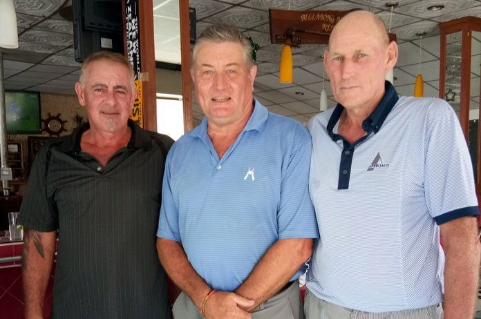 (From left) Sandy Chapo, Rick Culley and Lloyd Shuttleworth.