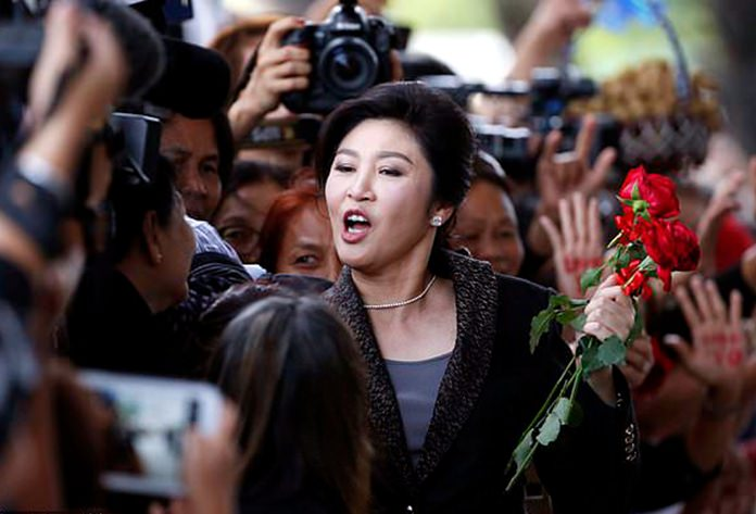 Former Prime Minister Yingluck Shinawatra is shown in this undated file photo. (AP Photo)