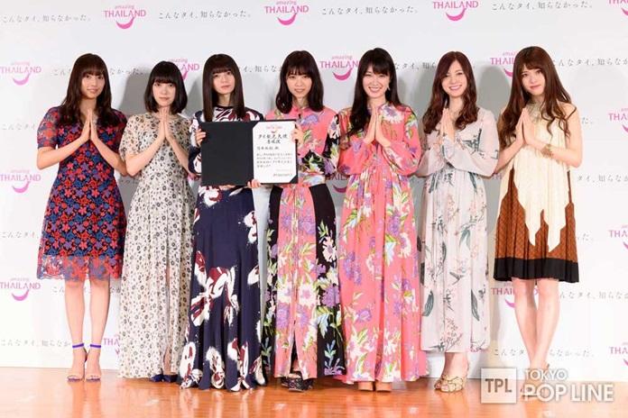 Japanese Idol group Nogizaka 46.