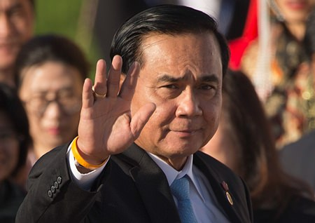 Thai Prime Minister Prayuth Chan-ocha will meet with President Trump in the Oval Office on Oct. 3. (Associated Press/File)