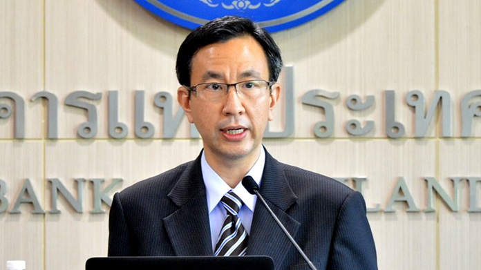 Don Nakornthab, senior director of the Macroeconomic and Monetary Policy Department at the Bank of Thailand.