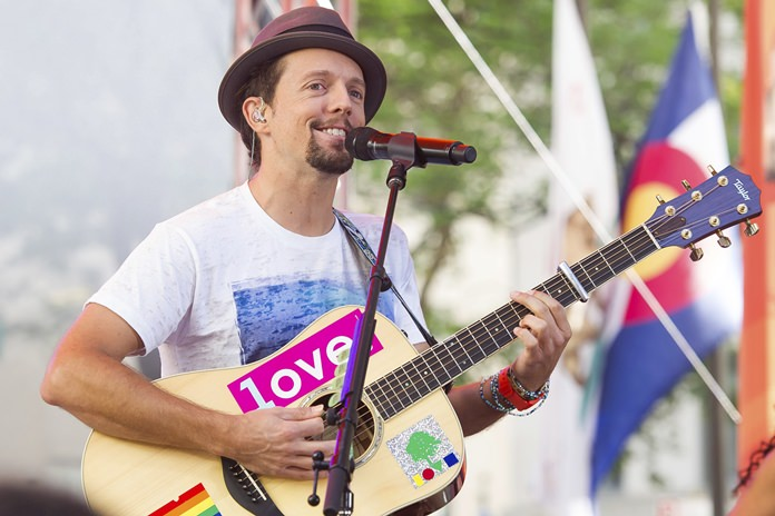 Jason Mraz. (Photo by Charles Sykes/Invision/AP)