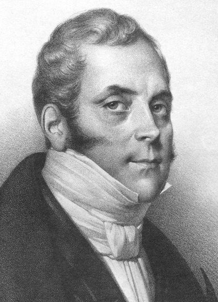 Composer Daniel Auber.