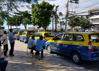 Authorities are threatening to double or triple fines against warring Pattaya public-transport drivers, saying vigilante violence against smartphone-enabled ride-sharing services must end.