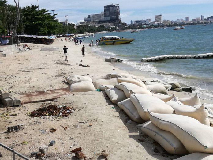 Pattaya's mayor said the city's namesake beachfront will be cleaned up within two weeks.