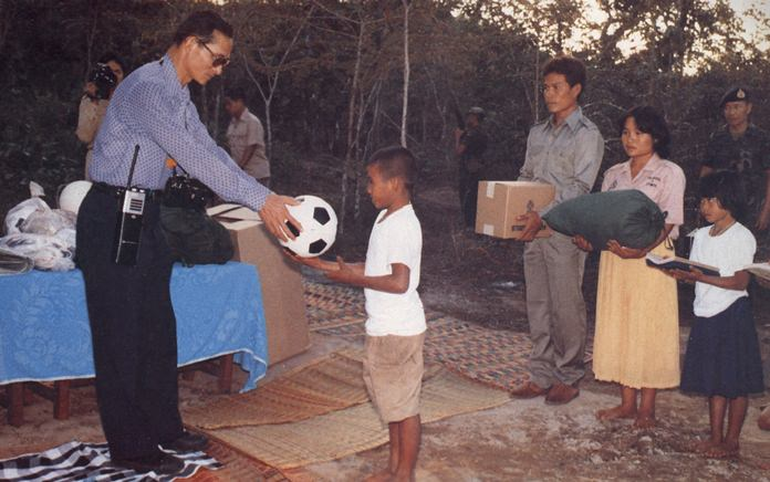 In the view of HM the late King Bhumibol Adulyadej, sports are an integral part of education, which provides children with knowledge of sportsmanship both in defeat as well as victory.
