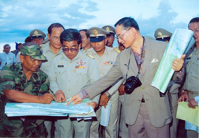 """The Government and the Mae Fah Luang Foundation adopted the royal approach of His Majesty the late King Bhumibol Adulyadej and the """"Mae Fah Luang Development Principles"""" in natural resource management."""