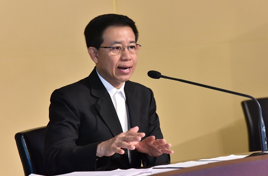 Government spokesperson Lt. Gen. Sansern Kaewkumnerd.
