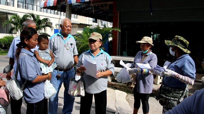 The Banglamung Public Health Department launched an emergency fumigation of Soi Nernplabwan after reports of several cases of dengue fever.