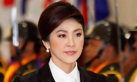 Former Prime Minister Yingluck Shinawatra.