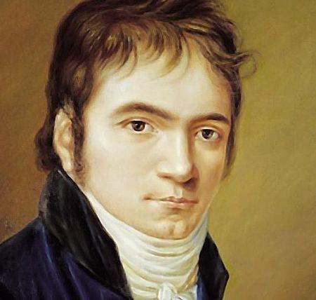 Ludwig van Beethoven in 1803.