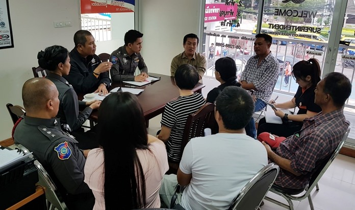 Police interview everyone connected to the accidental death of Chinese tourist Jiang Xiaonu who died on an underwater tour.