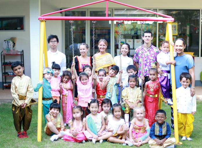 Foundation students from GIS had a great time at Loy Krathong.
