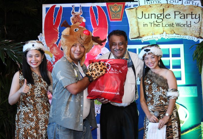 Pattaya Mail MD Peter Malhotra was the guest of honor to hand out prizes during the occasion.