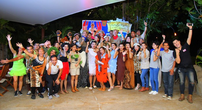 All media members and resort staff had a blast for the annual Thank You Press Party.