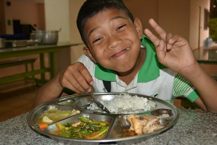 The Father Ray Foundation feeds 850 children and students a day. Every day.