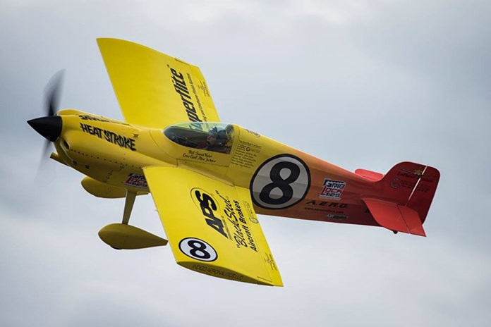 "Swaid Rahn, in his aircraft 'Heatstroke"", was the winner of the silver class at the Air Race 1 World Cup in Thailand."