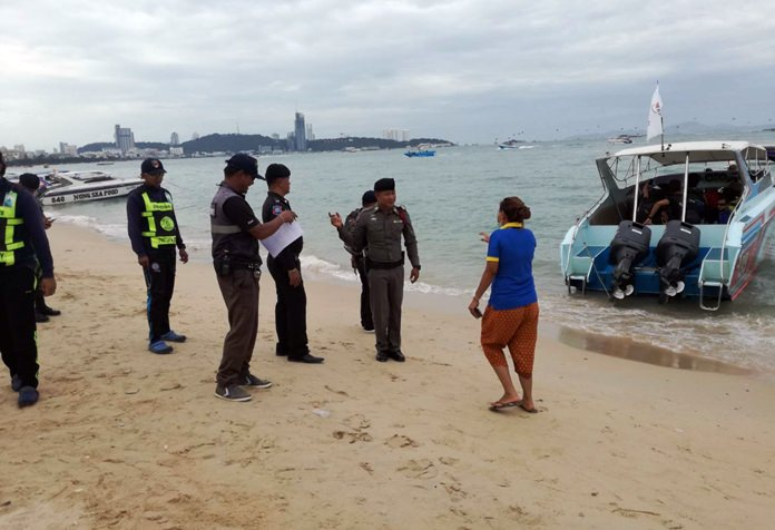 The Tourist Police led an inspection of Pattaya boat operators to make sure their vessels were seaworthy and all licenses up to date.