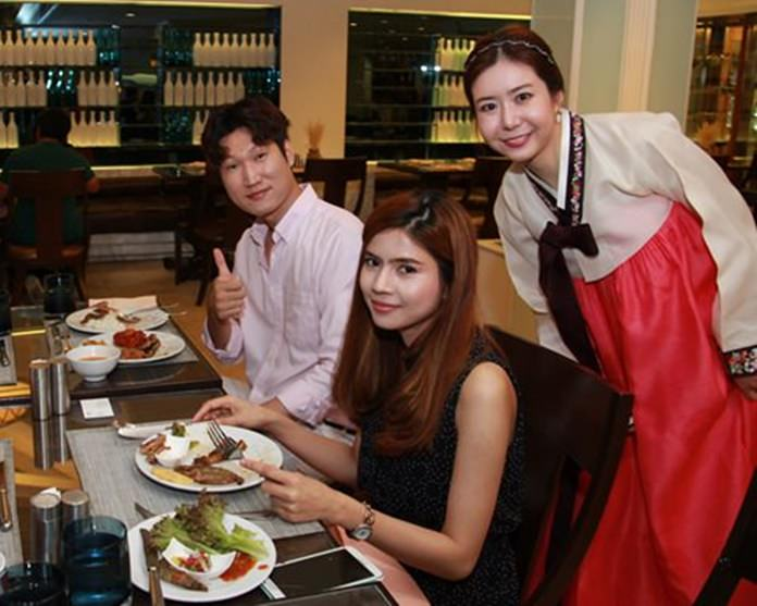 The charming Songhee Ha ensured that guests enjoyed the inimitable cuisine of her homeland.
