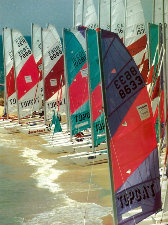 The Topcat World Championships were held at the Club in 1997.