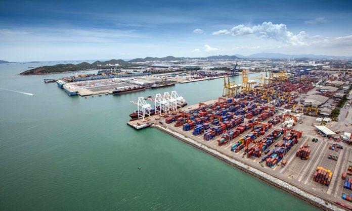 Laem Chabang sea port,