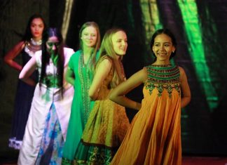 IB students put on a special Indian-style performance.