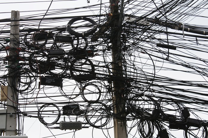 Pea Launches Nationwide Utility Wires Cleanup Pattaya Mail