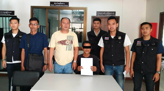 Somporn Thamaen, driver of a Sattahip baht bus who killed five passengers and injured nine others, was captured on the Cambodian border trying to flee the country.
