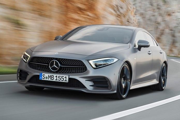 2018 Mercedes-Benz CLS.