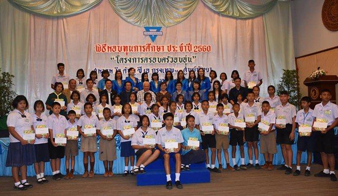 The YWCA Bangkok-Pattaya Center has awarded 625,500 baht in scholarships as part of their Warm Family program.