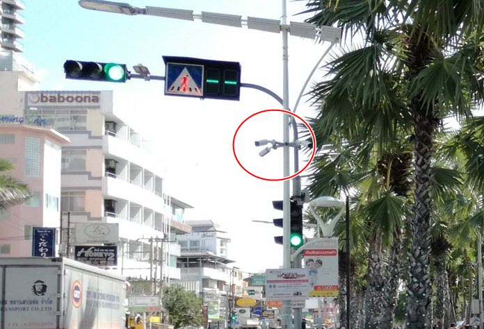 Pattaya plans to finally repair, replace and perform maintenance on 2,000 closed-circuit television cameras around town, about half of which are inoperable.