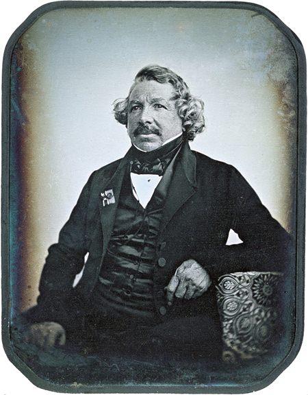 Daguerre self portrait.