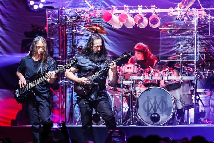 Dream Theater on stage in Bangkok. (Photo/IME Thailand)
