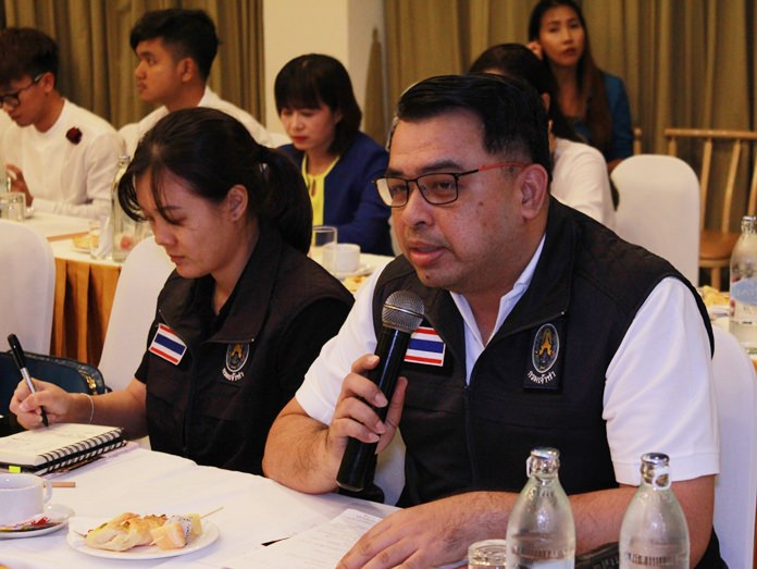 Marine Department Director Eakarat Kantaro said sea rescue squads will be on standby around the clock to respond to emergencies at sea via the 199 emergency number.