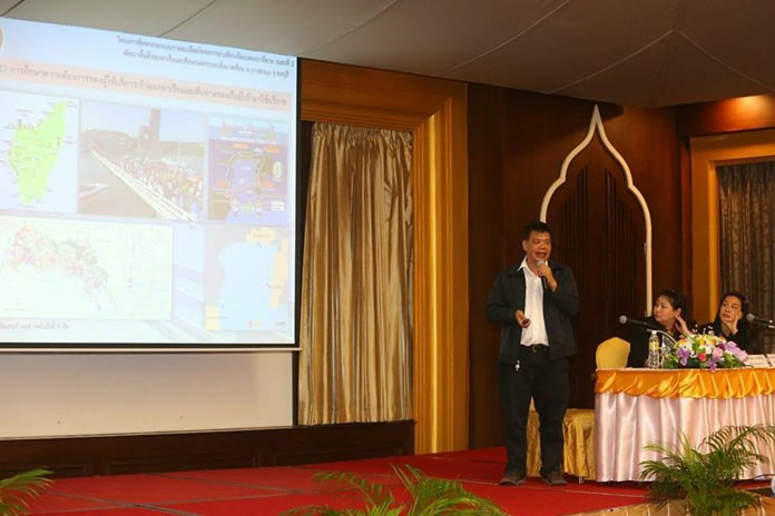 Atirach Kanovejyan, director of the Chonburi Office of Public Works and Town & Country Planning, said Bali Hai redevelopment is part of the government's Eastern Economic Corridor project and will encompass the pier itself and surrounding property, including the failed Pattaya marina.