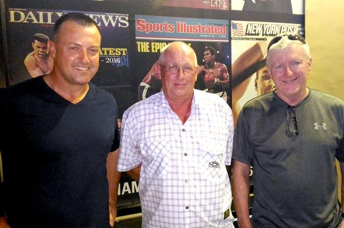 Steve Harris, Dave Horne and Shane Tutton.