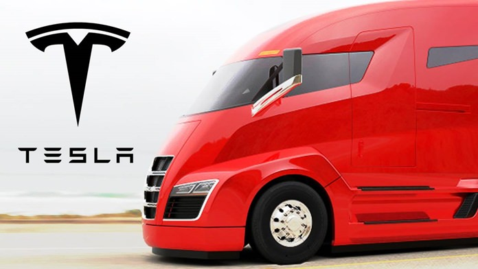 Tesla's big rig.