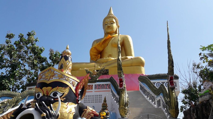 Pattaya's Nongyai Temple has unseated Chachoengsao as home to the country's tallest Luang Poh Sothorn statue – with a larger-size replica of the iconic Phra Phuttha Sothon Buddha statue.